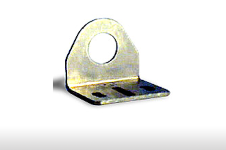 ZINC Plated Steel PLC DIRECT ST12C MOUNTING Bracket Right-Angle for USE with 12MM SENSORS.