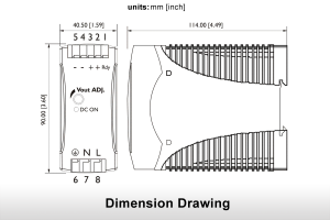 Dimension Drawing